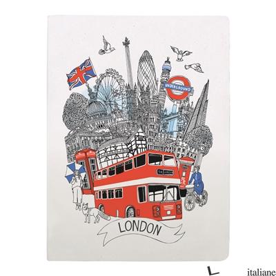 London Handmade Silkscreened Journal - Galison, illustrated by Hennie Haworth