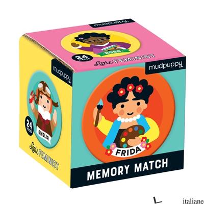 Little Feminist Mini Memory Match - Mudpuppy, illustrated by Lydia Ortiz