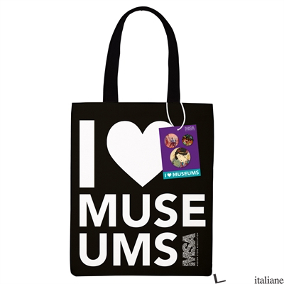 I Heart Museums Tote - Mudpuppy