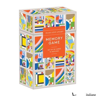Frank Lloyd Wright Memory Game - Galison, by (artist) Frank Lloyd Wright