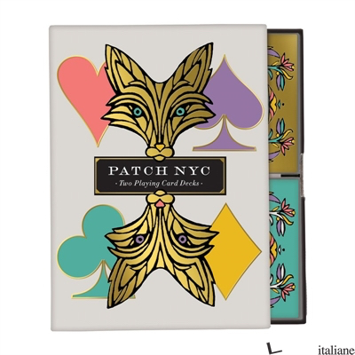 Patch NYC Playing Cards - Galison, illustrated by Patch NYC