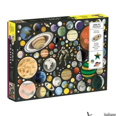 Zero Gravity 1000 Piece Puzzle With Shaped Pieces - Galison, by (artist) Ben Giles