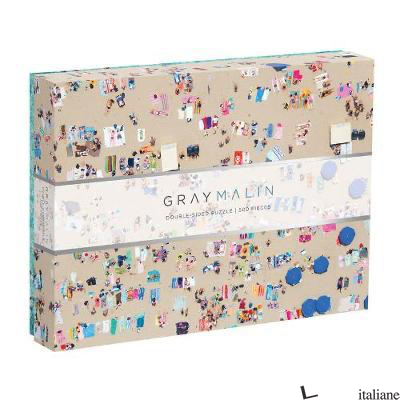 Gray Malin The Beach Two-sided Puzzle - Galison, photographs by Gray Malin