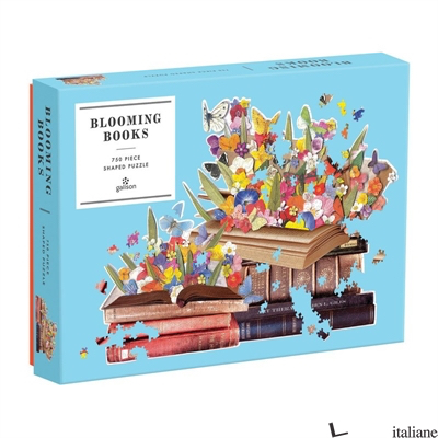 Blooming Books 750 Piece Shaped Puzzle - Galison, by (artist) Ben Giles