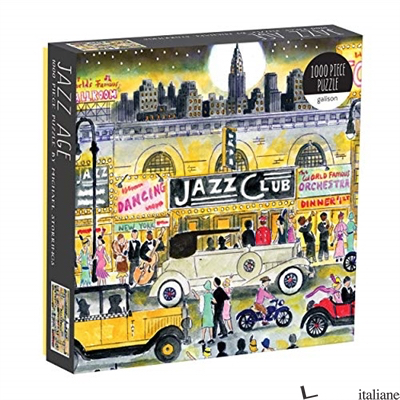 Michael Storrings Jazz Age 1000 Piece Puzzle - Galison, photographs by Michael Storrings