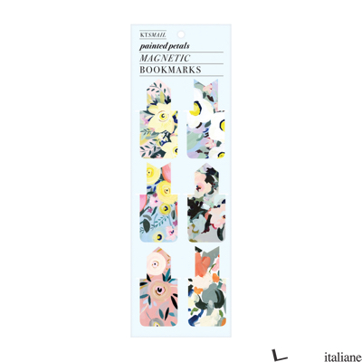 Painted Petals Magnetic Bookmark - Galison