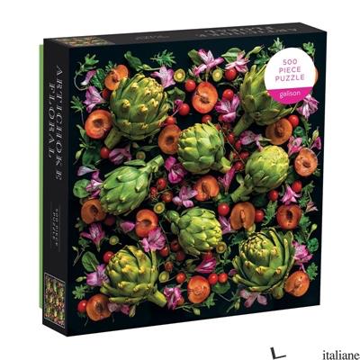 Artichoke Floral 500 Piece Puzzle - Galison, photographs by Sarah Phillips