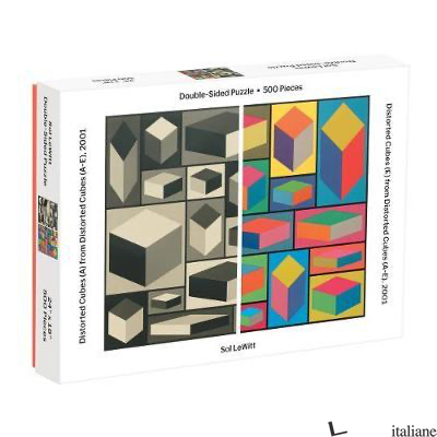 Moma Sol Lewitt 500 Piece 2-Sided Puzzle - Galison, by (artist) MoMA