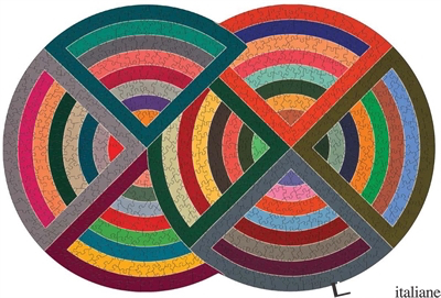 Moma Frank Stella 750 Piece Shaped Puzzle - Galison, by (artist) MoMA