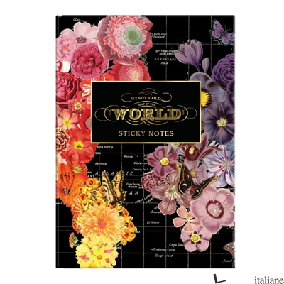 Wendy Gold Full Bloom Sticky Notes Hardcover Book - Galison, by (artist) Wendy Gold