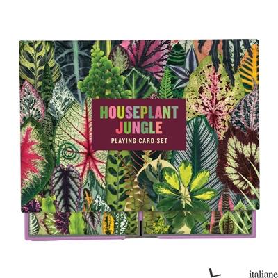 Houseplant Jungle Playing Card Set - Galison, by (artist) Troy Litten