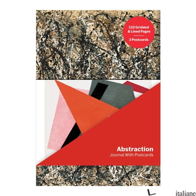 MoMA Abstraction Journal with Postcard Set - Galison, by (artist) MoMA