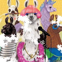 Llama Rama 500pc Family Puzzle - illustrated by Shyama Golden