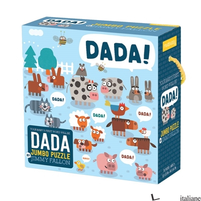 Jimmy Fallon Your Baby's First Word Will Be Dada Jumbo Puzzle - Mudpuppy and Jimmy Fallon, illustrated by Miguel Ordonez