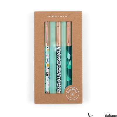 Now House by Jonathan Adler Assorted Everyday Pen Set - Galison, by (artist) Now House by Jonathan Adler