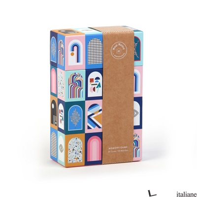 Now House by Jonathan Adler Memory Game - Galison, by (artist) Now House by Jonathan Adler