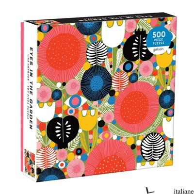 Eyes In The Garden 500 Piece Puzzle - Galison