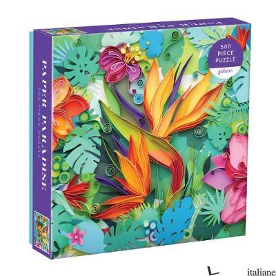 Paper Paradise 500 Piece Puzzle - Galison