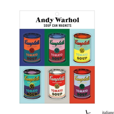 Andy Warhol Soup Can Magnets - Galison