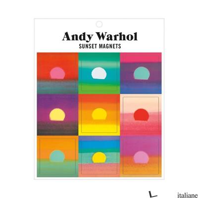 Andy Warhol Sunset Magnets - Galison