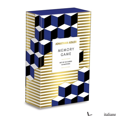 Jonathan Adler Versailles Memory Game - Galison, by (artist) Jonathan Adler