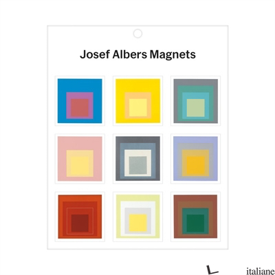 MoMA Josef Albers Magnets - Galison