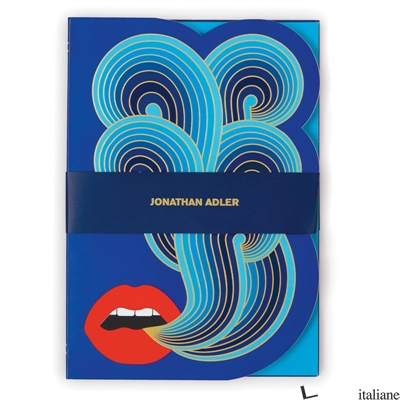 Jonathan Adler Lips A5 Journal - Galison