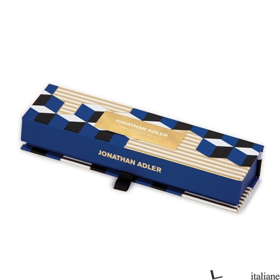 Jonathan Adler Versailles Cube Boxed Pen - Galison
