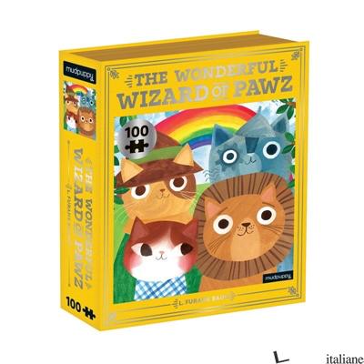 The Wonderful Wizard of Pawz Bookish Cats 100 Piece Puzzle - Mudpuppy
