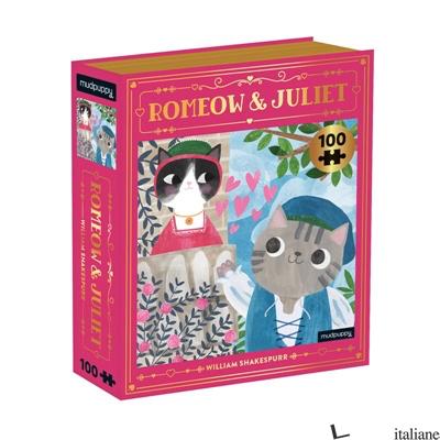 Romeow & Juliet Bookish Cats 100 Piece Puzzle - Mudpuppy