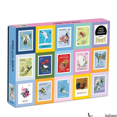 Birds of the World 1000 Piece Puzzle - Galison, by (artist) Diana Beltran Herrera