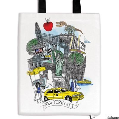 NYC Canvas Tote Bag - Galison, by (artist) Hennie Haworth