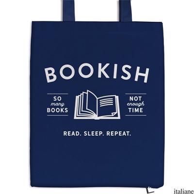 Bookish Canvas Tote Bag - Galison
