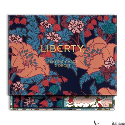 Liberty Floral Playing Card Set - Galison, by (artist) Liberty