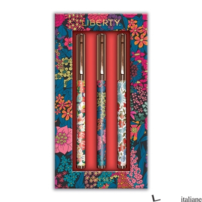 Liberty London Floral Everyday Pen Set - Galison, by (artist) Liberty London