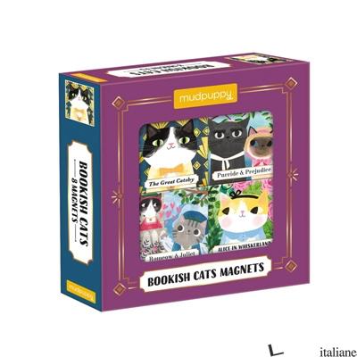 Bookish Cats Magnets - Mudpuppy