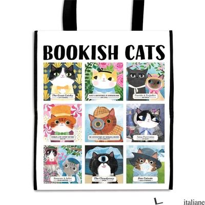 Bookish Cats Reusable Shopping Bag  - Mudpuppy