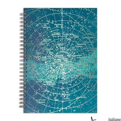 "Constellation Grid 7 x 10"" Wire-O Journal - Galison"