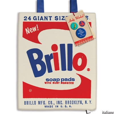 Andy Warhol Brillo Tote Bag - Galison, by (artist) Andy Warhol