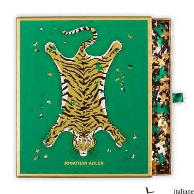 Jonathan Adler Safari 750 Piece Shaped Foil Puzzle - Galison, by (artist) Jonathan Adler