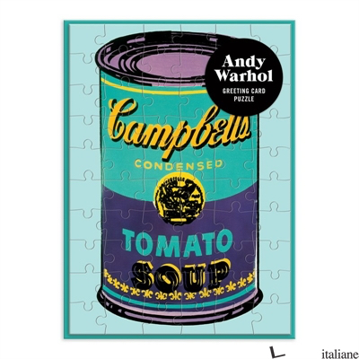 Andy Warhol Soup Can Greeting Card Puzzle - Galison, by (artist) Andy Warhol