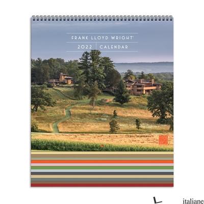 Frank Lloyd Wright 2022 Tiered Wall Calendar - Galison, by (artist) Frank Lloyd Wright