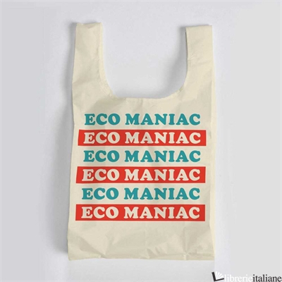 Eco Maniac Reusable Tote - Brass Monkey and Galison
