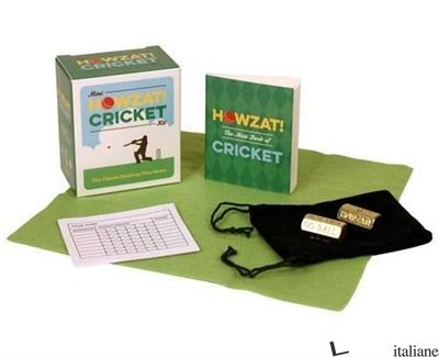 Mini Howzat! Cricket Kit - Press, Running