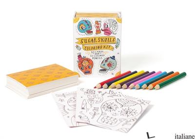Sugar Skulls Coloring Kit - Press, Running