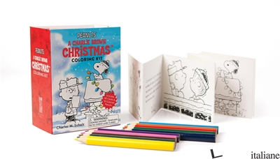 Peanuts: A Charlie Brown Christmas Coloring Kit - Schulz, Charles