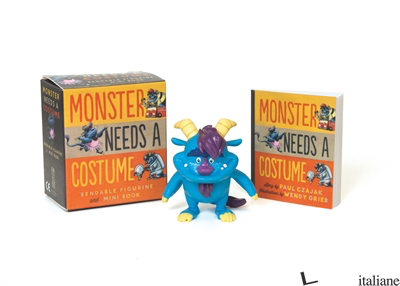 Monster Needs a Costume Bendable Figurine and Mini Book - Czajak, Paul,Grieb, Wendy