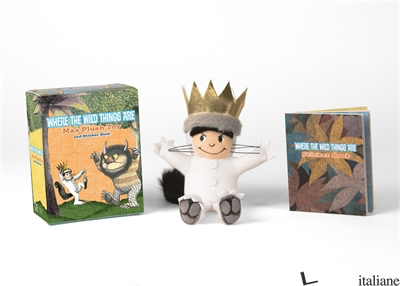 Where the Wild Things Are: Max Plush Toy and Sticker Book - Running Press