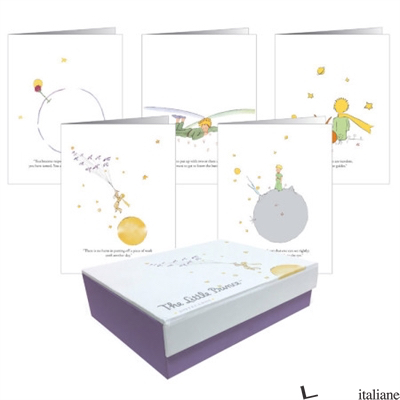 The Little Prince Notecards - Press, Running