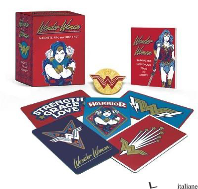 Wonder Woman: Magnets, Pin, and Book Set - Manning, Matthew K.